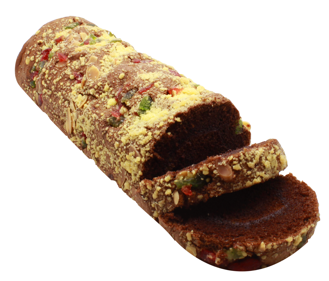 Cake roll strusell chocolate