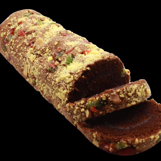 Cake roll strusell chocolate