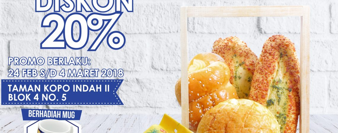 Campaign Garmelia Bakery TKI II - Digital Poster